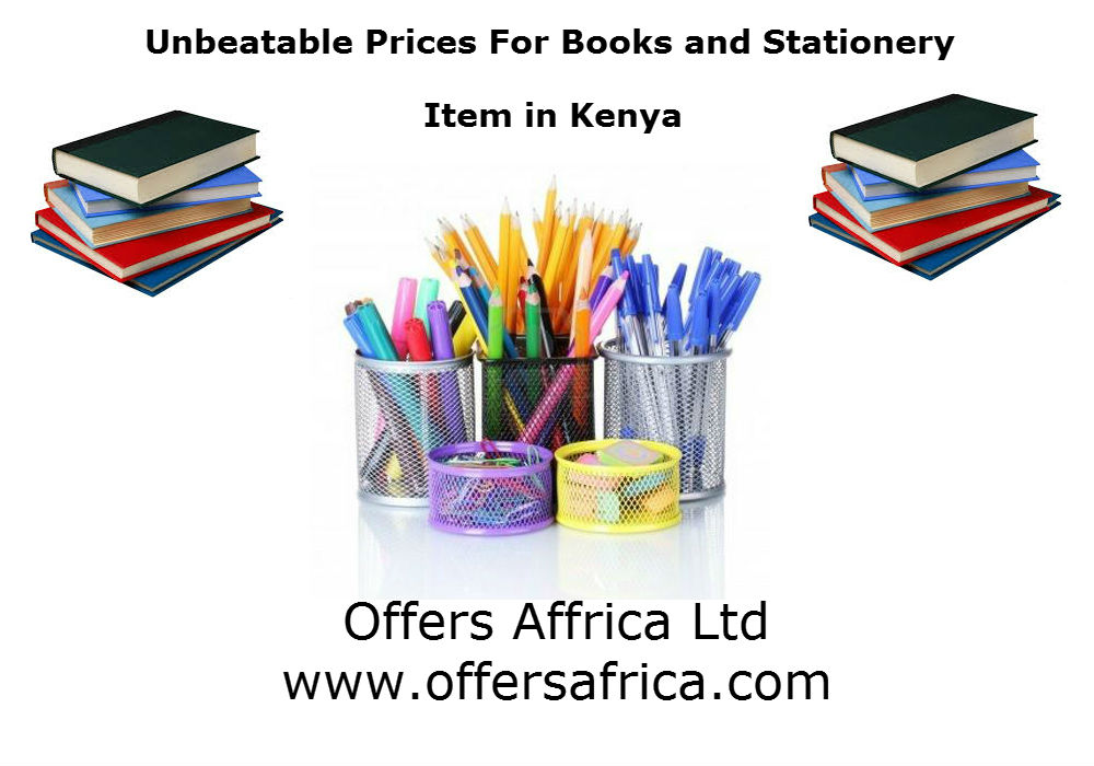 Books and Stationery item in Kenya