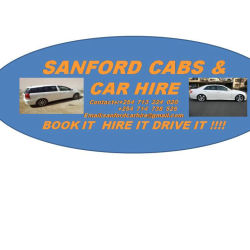SANFORD CAR HIRE NEW LOGO