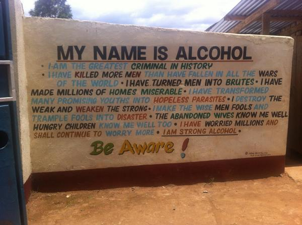 My name is alcohol