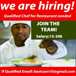 qualified chef
