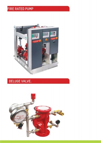 FIRE RATED PUMP