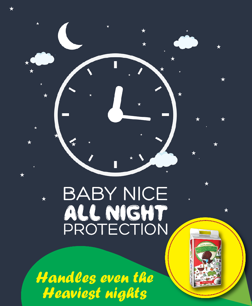baby nice diapers stay dry all night