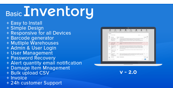Inventory POS point of sale software hardware stock accounting system