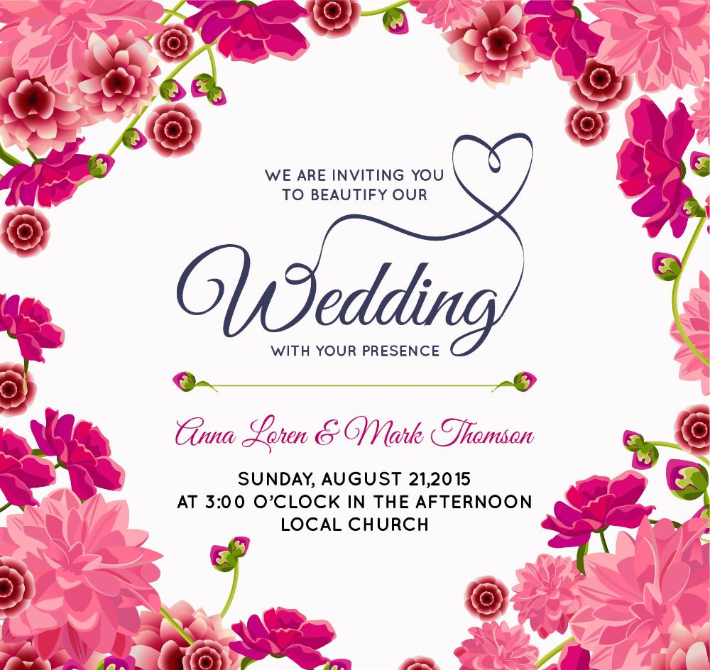 Beautiful-Pink-Floral-Wedding-Background
