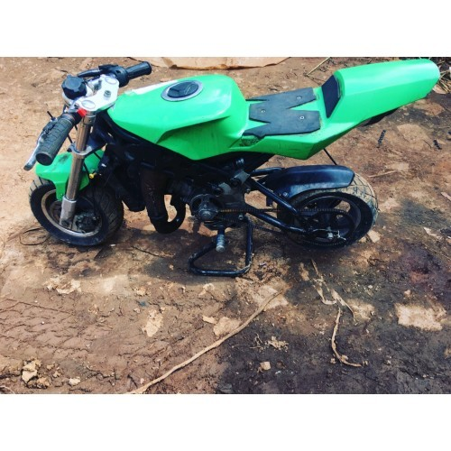 kid quad bike green