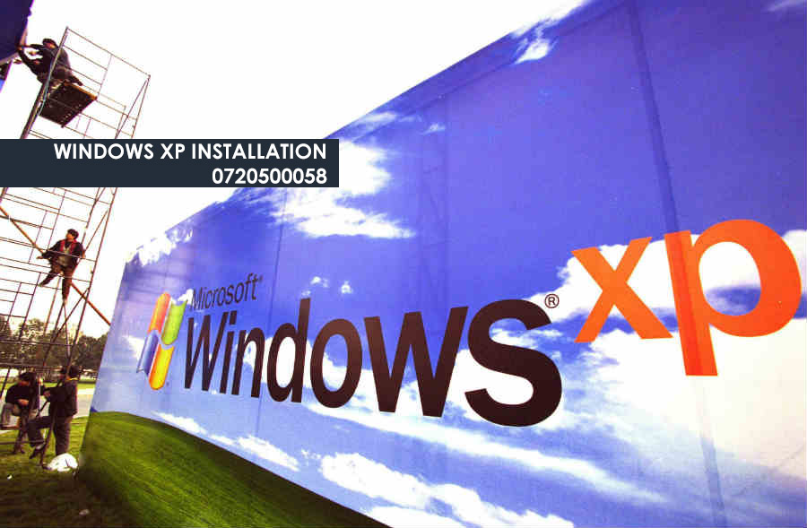 Windows XP Nairobi 0720500058 - Software and OS installation services2