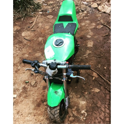 kid quad bike green 4