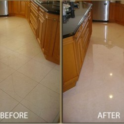 before and after tiling services