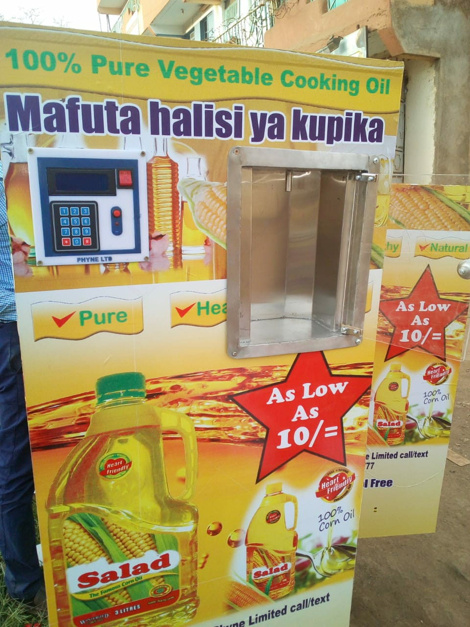milk ATM/salad oil ATM vending machine - Biashara Kenya