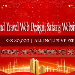 TOURSTours and Travel Web Design, Safaris Website Design @ KES 30,000