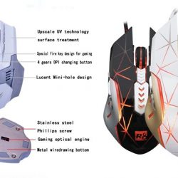 8 Button USB Wired MACRO Mouse G1@ Ksh 1950.00