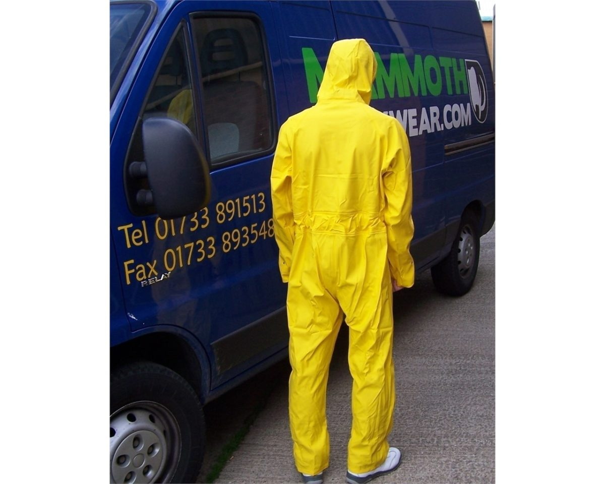 Water proof coverall 2