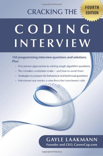 Cracking the Coding Interview, Fourth Edition_ 150 Programming Interview Questions and Solutions (2008) -by Gayle Laakmann -  (IG@rkebooks)