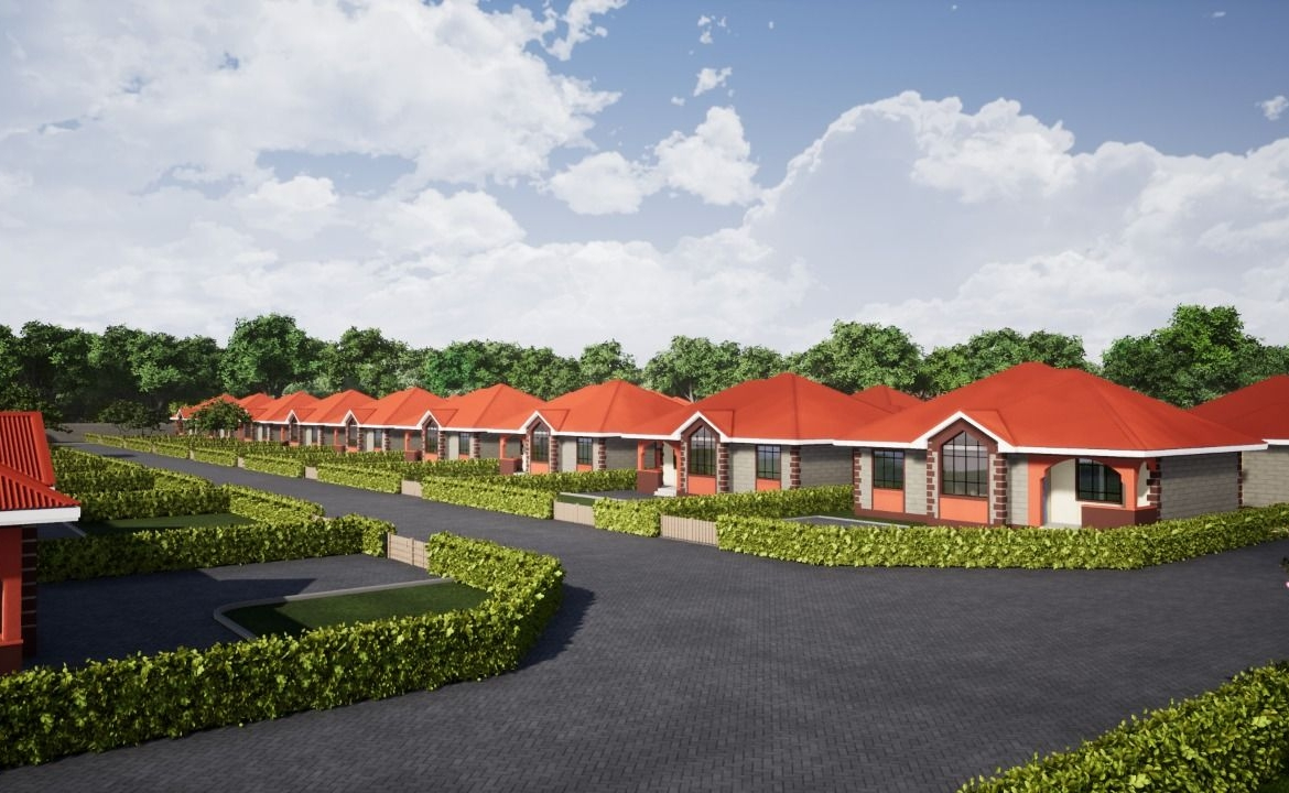 Several bungalows