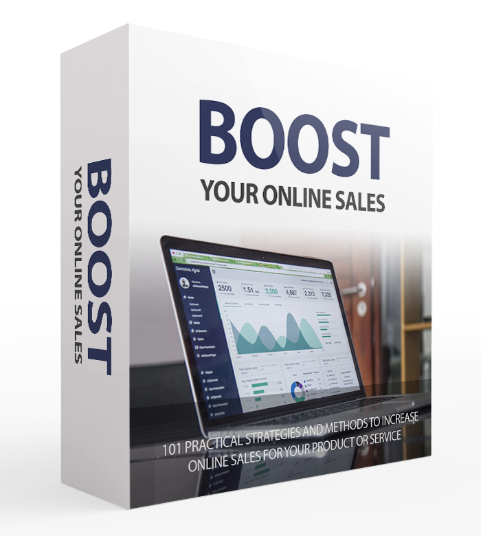 Boost Your Online Sales Cover