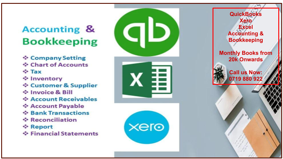 Accounting and Bookkeeping Banner