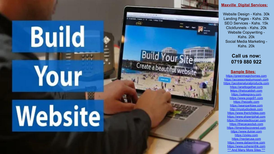 Website Building Banner
