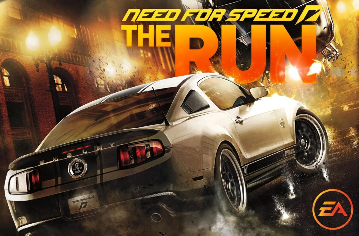 Need For Speed NFS RUN Computer Game.