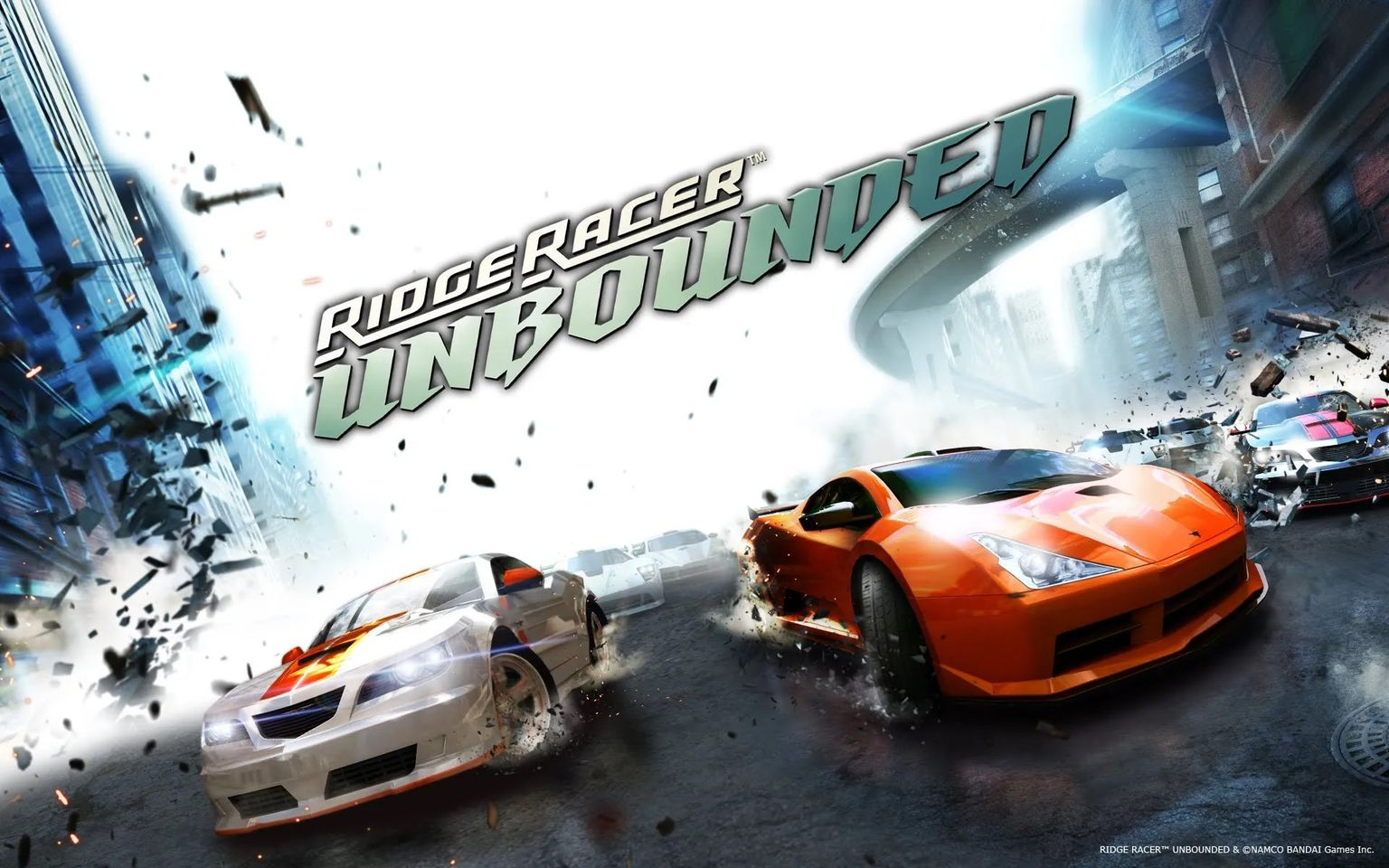 Ridge Racer Unbounded Computer Game