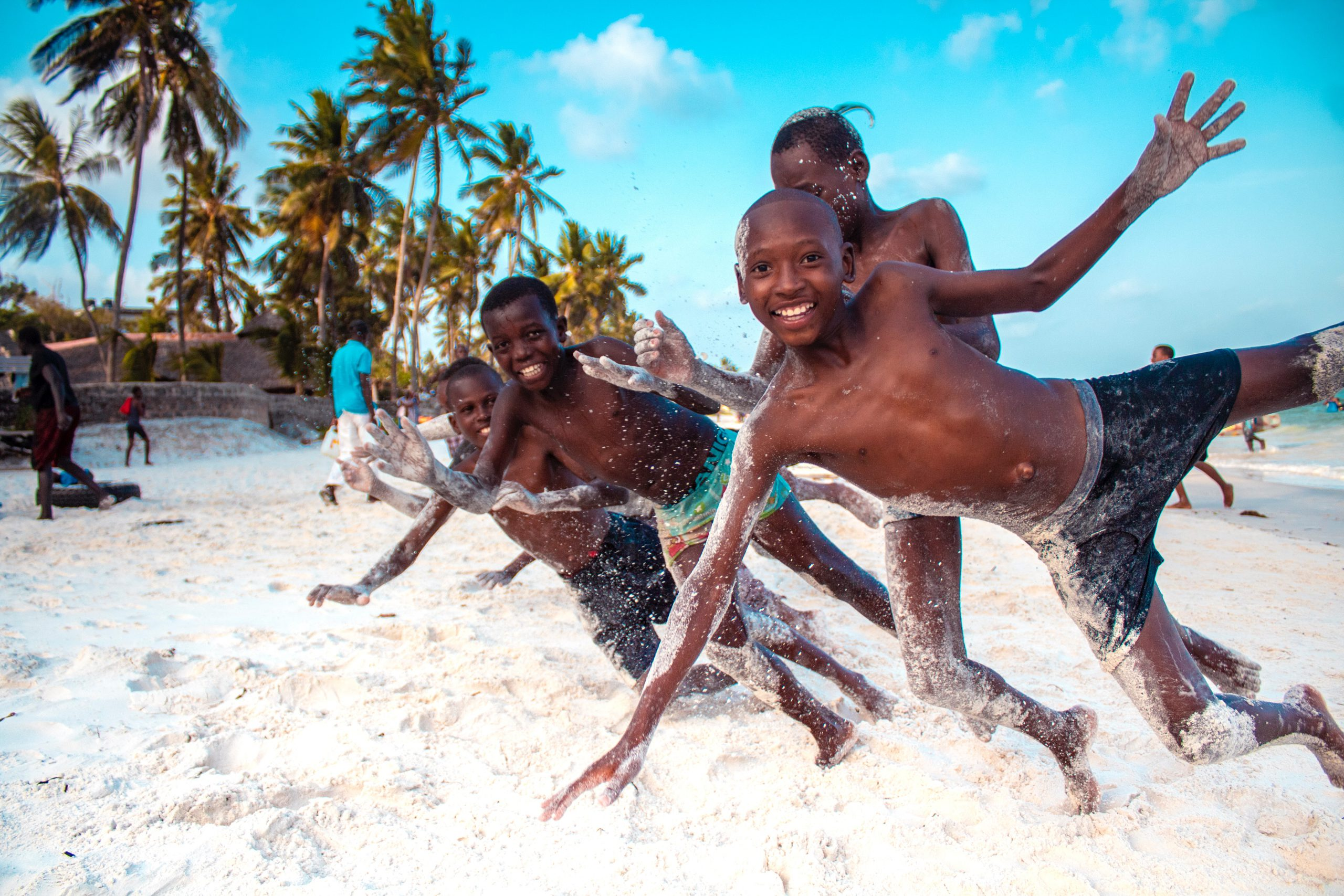 children-at-the-Diani-beach-scaled