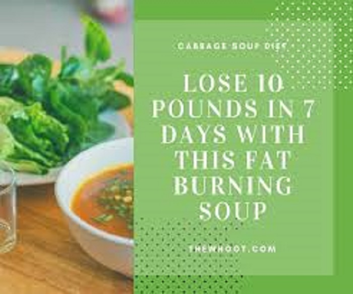 lose 10 pounds with this fat burning soup