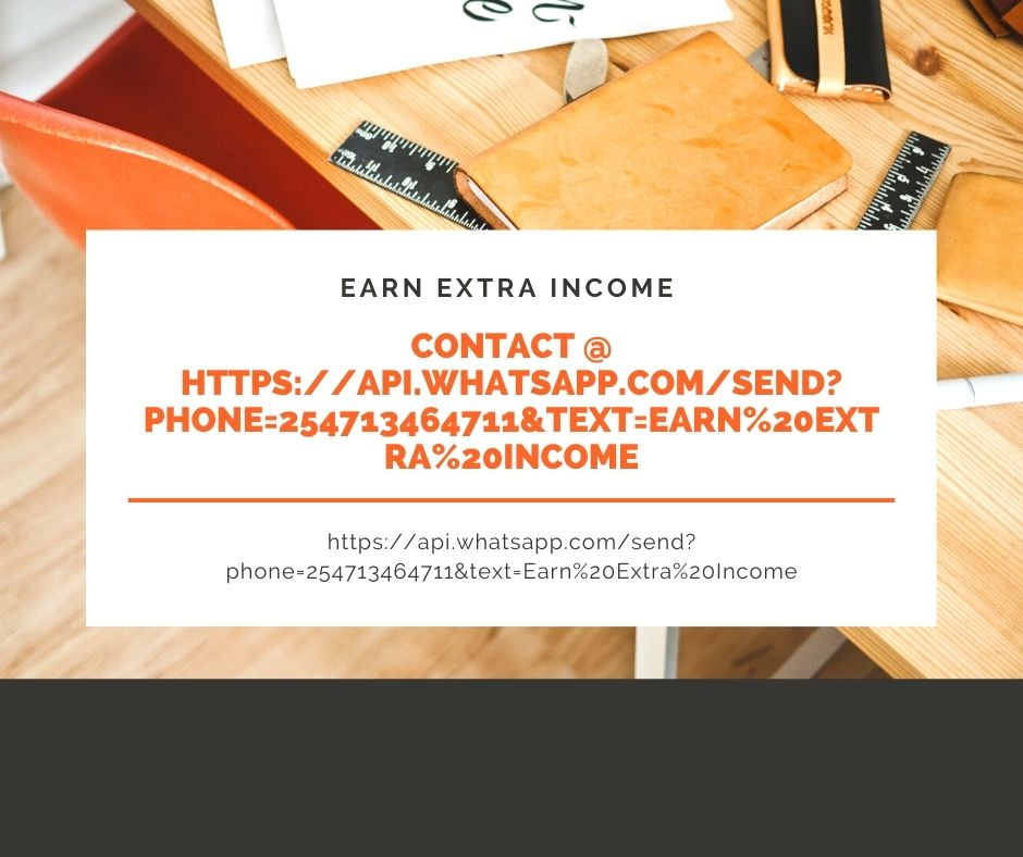 Earn Extra Income at home