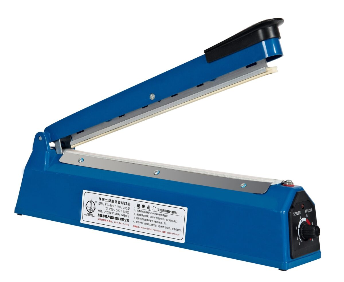 Production-and-Supply-Hand-16-400-mm-16-Inch-40-Cm-Length-Impulse-Poly-Bag-Heat-Sealer-Pfs-400-Poly-Tubing-Sealing-Machine